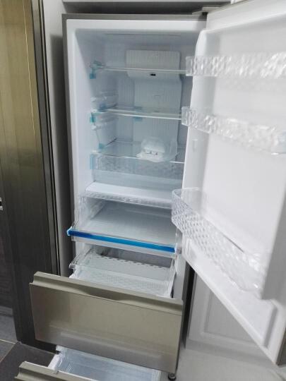 松下(Panasonic) 三门冰箱NR-C380TX-XN/XW/XS 380L 风冷 NR-C380TX-XW水晶白 晒单图