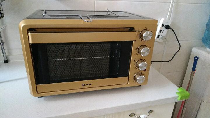 东菱(Donlim)38升/L 电烤箱 热风循环 双层玻璃门 旋转烤叉 家用烘焙 DL-K40PLUS 晒单图