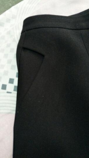 多姿韵 短裤女秋冬2018款高腰宽松显瘦阔腿A字短裤女西装裤职业短裤子大码打底外穿休闲裤女 白色 M/2尺 晒单图