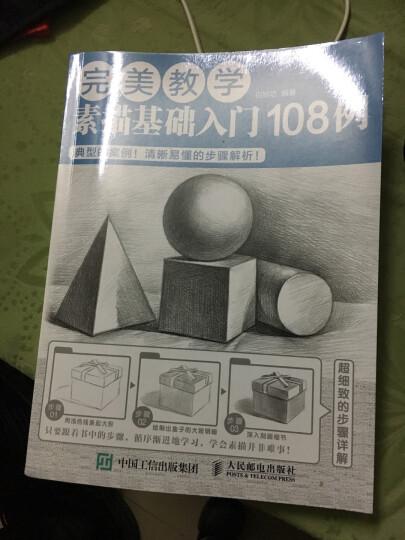 完美教学:素描基础入门108例 晒单图