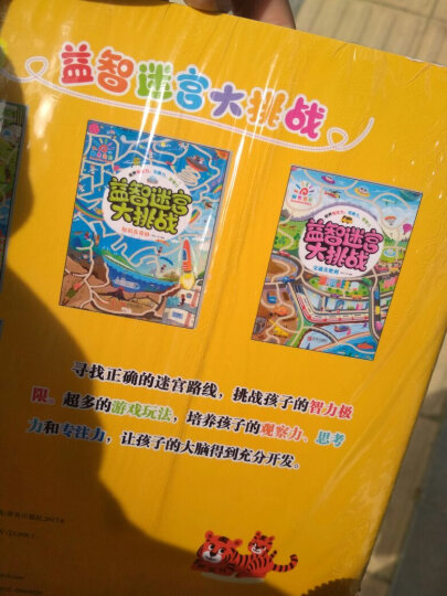 迷宫大挑战全套4册 3-6岁儿童绘本培养专注力观察力书籍幼儿专注力培养训练书籍迷宫书 晒单图