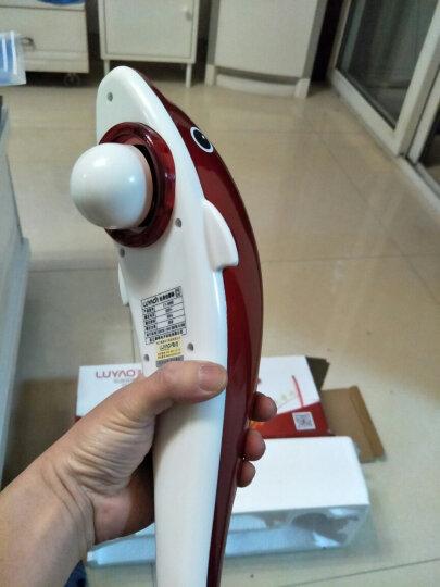 璐瑶电动按摩棒颈椎按摩器肩颈多功能经络按摩捶颈腰部锤腰椎背颈肩腿部捶背肩膀肩部按摩仪老人手持式全身 606B-2海豚型(一种模式两档力度) 晒单图