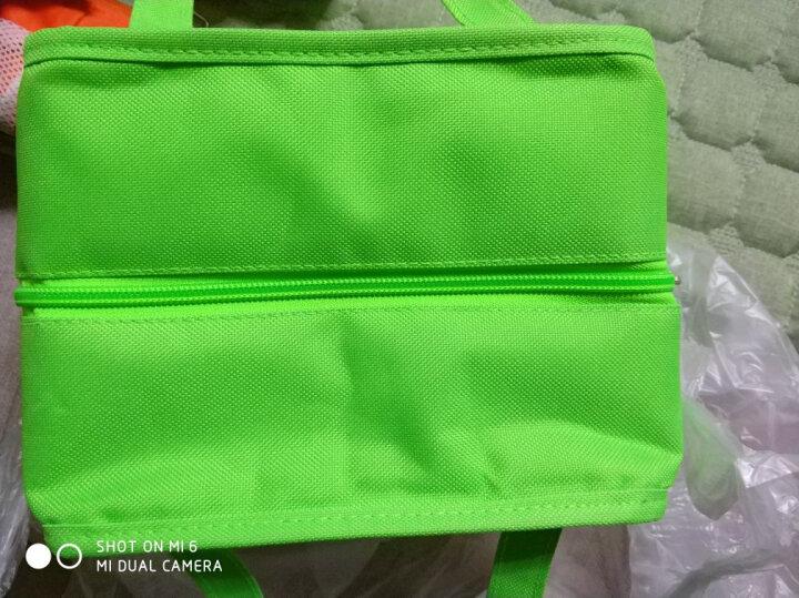 贝特阿斯(BestHA)耐热玻璃保鲜盒三件套(400ml*2+800ml) 冰箱 微波炉适用饭盒RL3-01B 送绿色保温包 晒单图