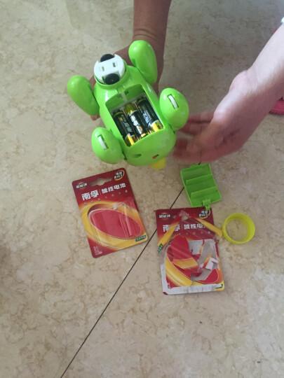 呆萌可爱QQ狗电动宠物狗 有趣的音乐灯光万向轮玩具 电动玩具狗狗 粉色小狗 晒单图
