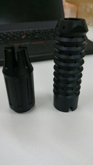锦明8代下供弹M4玩具枪金属消音火帽器可调节NERF玩具专用装饰金属配件仿真模型 巨根消音 晒单图