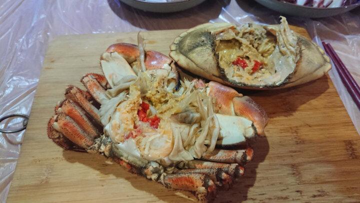 海鲜颂 东山岛冷冻蟹脚肉 火锅食材 250g*2 晒单图