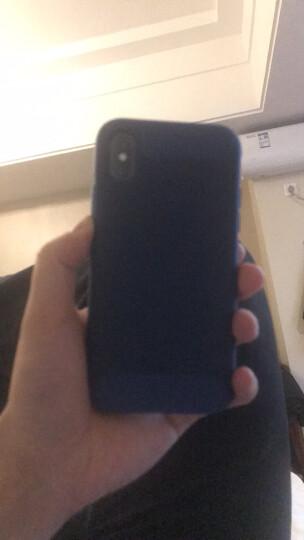 亿色(ESR) iPhoneX手机壳防摔 抗摔减震强保护款 苹果x手机壳保护套 逸航系列-藏蓝 适用于iPhone X手机 晒单图