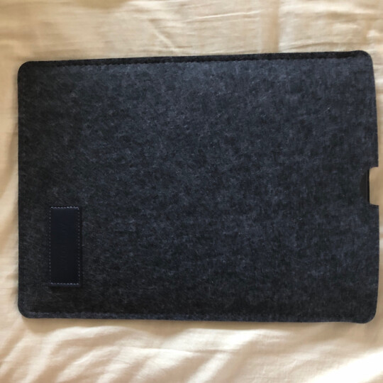 ACE COAT 苹果Air电脑包mac Pro内胆包防摔毛毡包Macbook保护套布袋 随行系列 深灰 Macbook 12英寸 晒单图