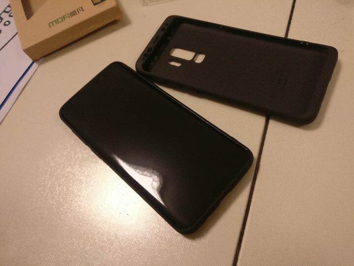 莫凡 三星Galaxy S9+手机壳/保护套 个性创意全包边防摔贴皮背壳 适用于三星Galaxy S9PLus手机套 灰色 晒单图