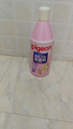 贝亲(Pigeon) 日本Pigeon贝亲 哺乳奶瓶奶嘴餐具水杯器具空间消毒液 奶瓶餐具除菌清洗液1050ML 晒单图