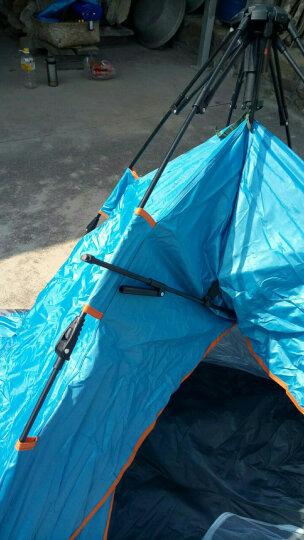 全自动户外帐篷双人防雨野外露营帐篷免搭建3-4人帐篷套装 套餐三(双人帐篷+防潮垫+充气枕+吊床+折叠椅) 晒单图