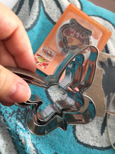 悠悠趣生活 蔬菜压花水果切饼干烘焙切西瓜创意DIY3件套不锈钢造型烘焙工具模具 圆圈 晒单图