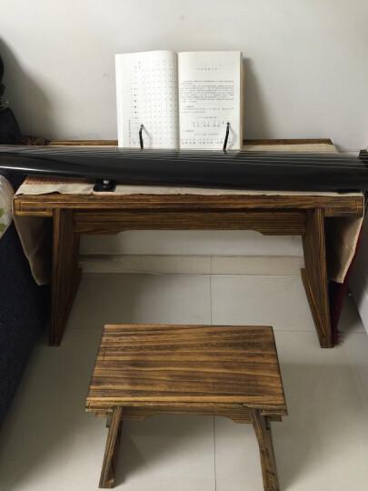 英悦 古琴桌凳,共鸣箱款基础款体双栓古琴桌/包邮 共鸣箱款加桌旗 晒单图