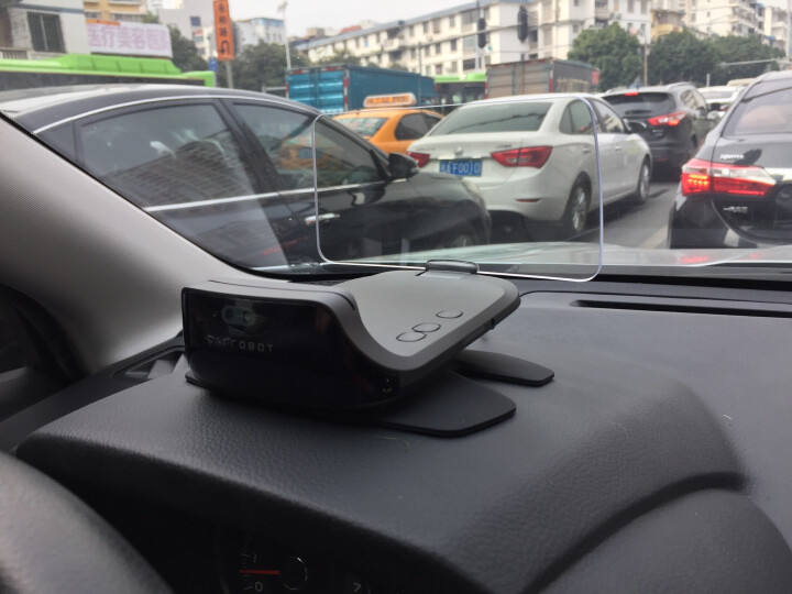 车萝卜智能车载机器人智能车机GPS导航抬头显示hud导航一体机 车萝卜蓝牙遥控器 晒单图