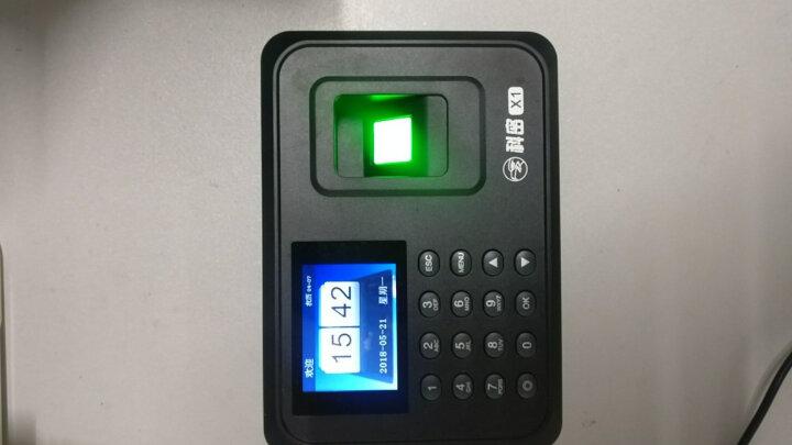 科密(COMET)X1免软件彩屏指纹考勤机打卡机卡钟 晒单图