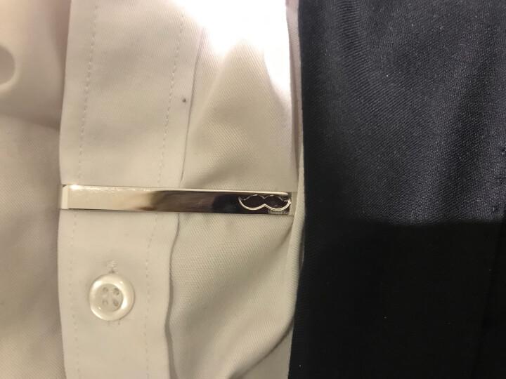 玛诗杜MSKOO领带夹男士金属小胡子领夹礼盒装TC-9016 晒单图