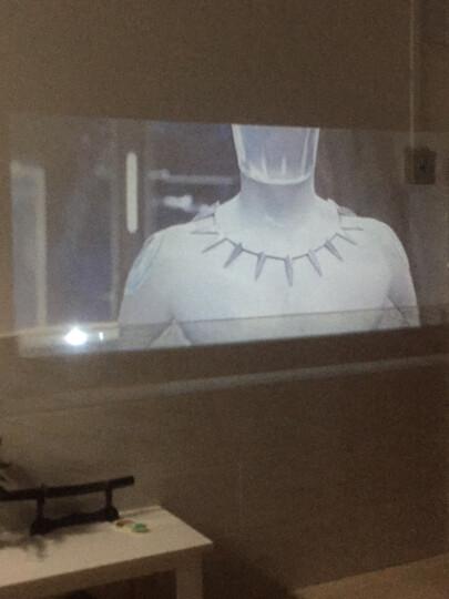 瑞格尔(Rigal)全高清投影仪办公家用 超高清家庭投影机 3D影院 HDMI接口 810增强版黑色+WIFI蓝牙+手机同屏 晒单图