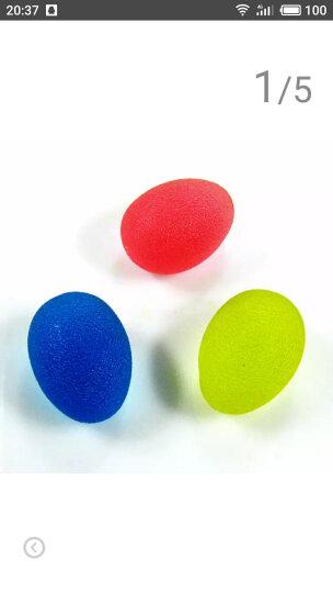 mysports5062握力球老人成人儿童手指握力训练健身手球硅胶果冻发泄球 鸡蛋形黄红蓝三个装 晒单图