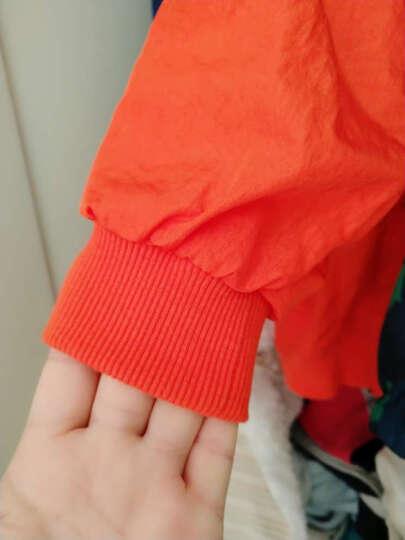 儿童装男童秋装中长款外套2018新款中大童冬装加厚男孩韩版棉服 风衣-黑色 130建议身高1米15-1米25 晒单图