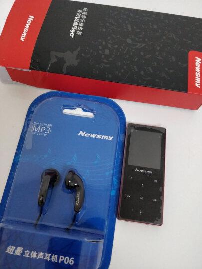 纽曼(Newsmy) 纽曼mp3播放器 迷你运动便携随身听 学生可爱HiFi录音无损音乐 红色 晒单图