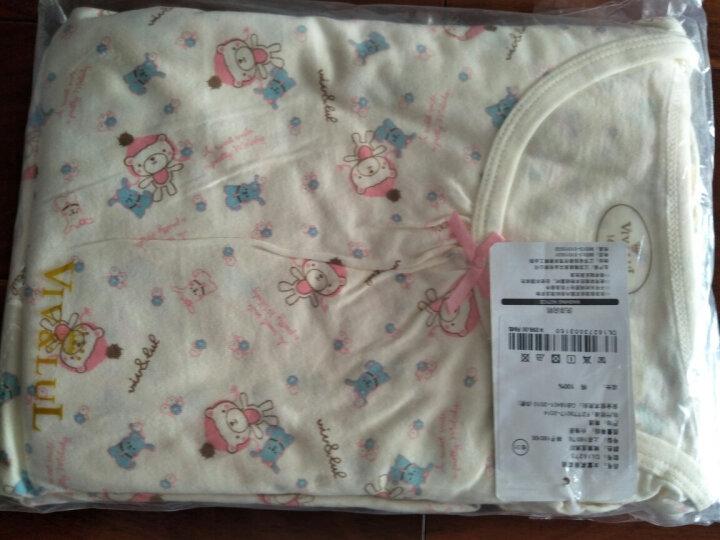 唯·路易(VIV&LUL) 唯·路易儿童睡衣套装纯棉男童家居服长袖套装女童宝宝春装睡衣 男童灰色款 120 晒单图