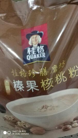桂格(QUAKER)珍膳磨坊山药黑芝麻粉340g (34g*10袋) 晒单图