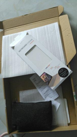 【X】充电器电源包鼠标袋 笔记本电源包 毛毡化妆包数码收纳包内附手机包隔层 深灰色 晒单图