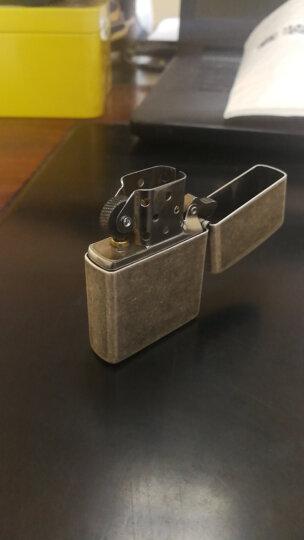 之宝(Zippo)打火机 仿古银 仿古电镀121FB 煤油防风火机 晒单图