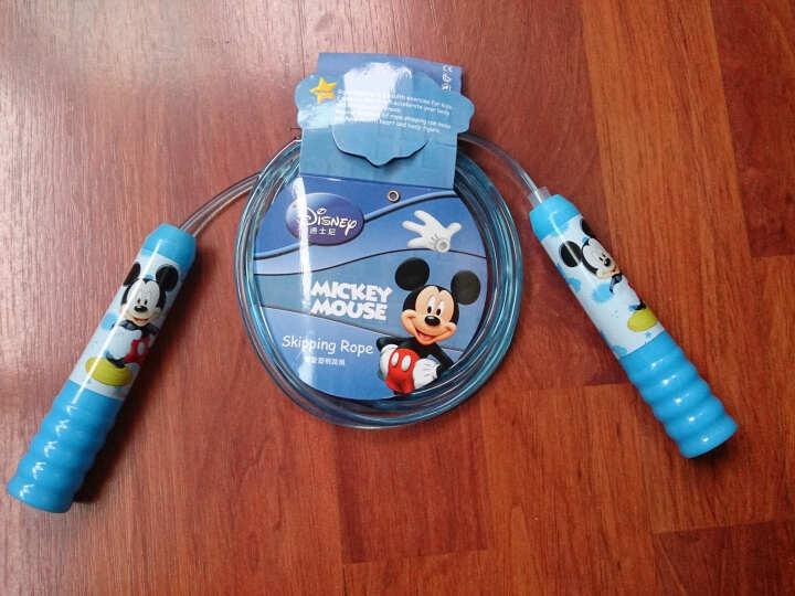 迪士尼幼儿园儿童跳绳学生跳绳米奇公主跳绳 防滑手柄小学生跳绳普通跳绳 DBA10688蓝色米奇 晒单图