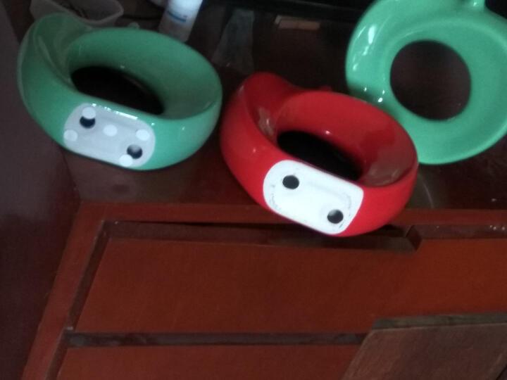 恒瓷美 【平平安安】家居装饰品苹果陶瓷工艺品摆件/厂家直销 五色可选 绿色 晒单图