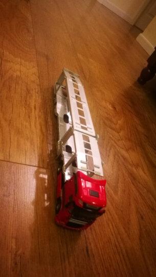 凯迪威 工程汽车模型 1:50工程运输车模型 玩具摆件汽车运输车礼盒装合金车模 晒单图