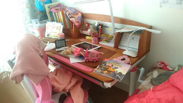 美伊尚品 可升降实木儿童书桌椅套装 多功能学习桌 实木小学生写字桌 单桌无赠品 晒单图