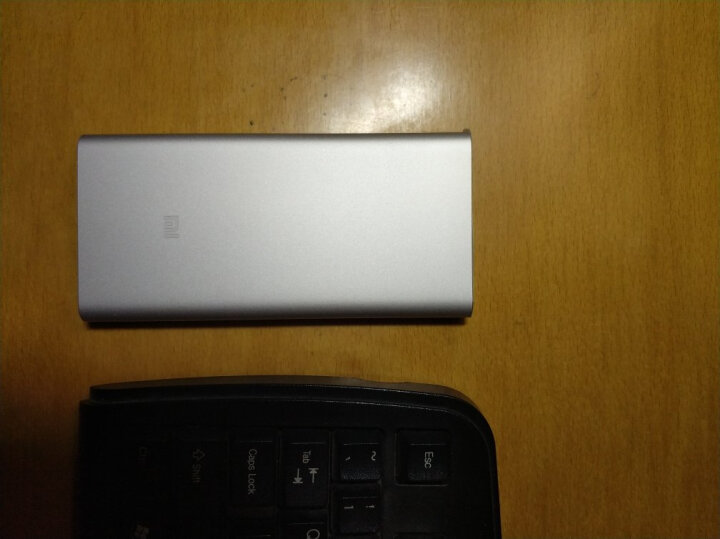 小米10000毫安 新移动电源2 /充电宝 双向快充 超薄小巧便携 银色(新版) 晒单图
