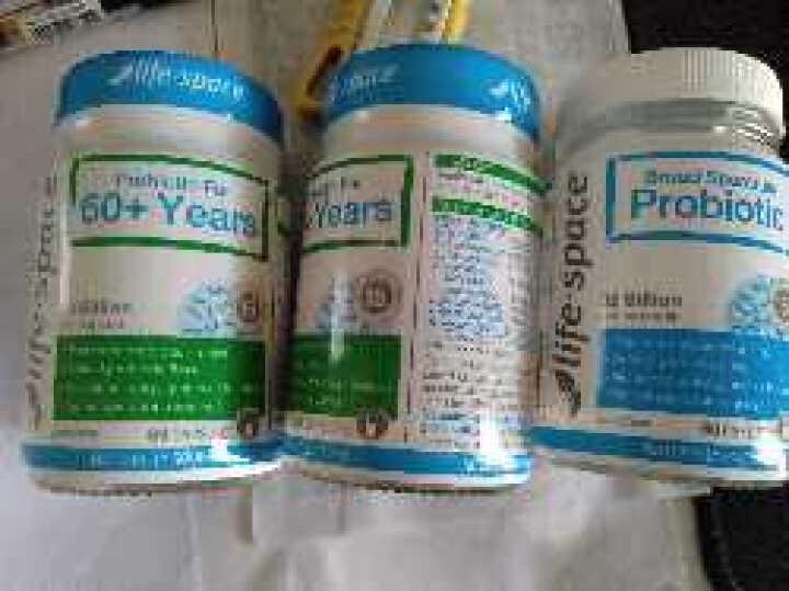 澳洲进口 Life Space 益生菌治便秘调节肠道提高免疫力 老年人益生菌胶囊 60粒*1瓶 晒单图