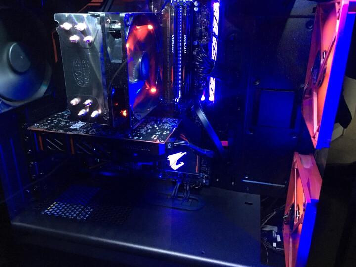 九州风神(DEEPCOOL)RGB 100 蓝光 机箱灯带 (DIY机箱发光条/磁铁灯光/大4pin供电/内置50CM延长线) 晒单图
