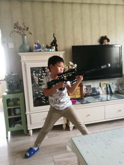 电动儿童玩具枪声光投影 红外线震动声光 户外拓展真人cs枪 对战冲锋巴雷特狙-1击-1枪男孩击玩具枪 声光投影玩具枪-火线追踪者 晒单图