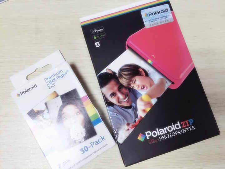 宝丽来(Polaroid)ZIP手机照片打印机 黑色 拍立得 手机照片打印机口袋相印机 晒单图