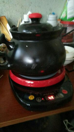 夏新(Amoi)煎药壶中药壶养生壶紫砂陶瓷全自动电药锅中药煲 黑陶4L药壶 晒单图