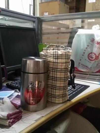 ?清水(shimizu) 焖烧杯保温杯套装 焖烧壶方盒闷烧罐男女不锈钢保温水杯创意儿童学生饭盒闷烧杯 6251粉色 1200ml 晒单图
