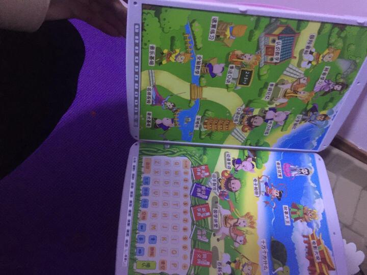 优易典 F60点读机幼儿4.3英寸触摸屏小学初中课本同步 粉红色16G+8本学习宝盒 晒单图