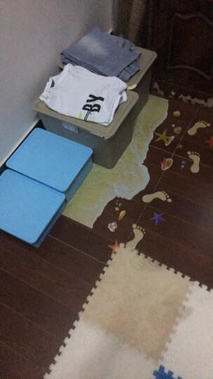 3d立体墙贴客厅卧室儿童房装饰墙上浴室瓷砖地板贴纸防水墙壁贴画 鹅软石 大 晒单图