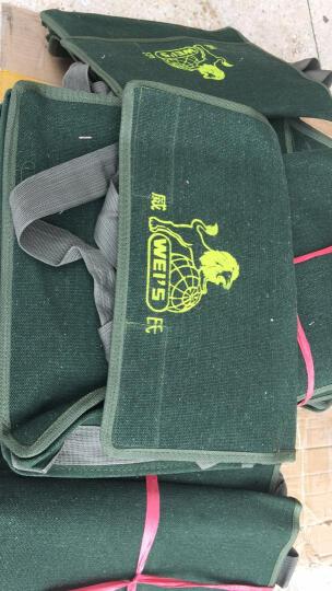 威氏 双层三层特厚电工包 单肩式工具包 工具袋 工具挎包 帆布包 电工袋 三层38cm 晒单图