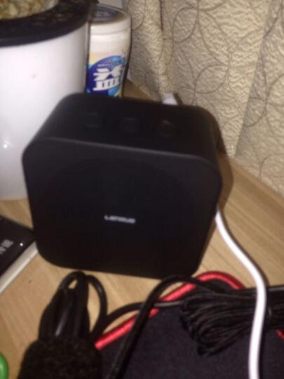 蓝悦(LEnRuE)A6pro 蓝牙音箱 双喇叭低音炮电脑音响 迷你音响 便携插卡音箱 铁灰色 晒单图