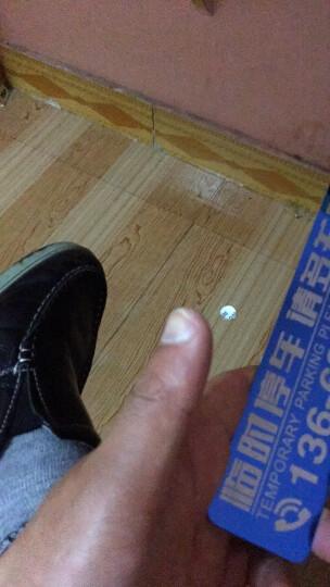 定制停车牌 金属停车牌 临时停车牌 挪车电话牌不锈钢电话号码牌创意停车卡 大号支架 模板4 晒单图