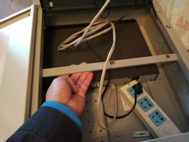 鸿雁(HONYAR) 鸿雁弱电箱模块数字有线电视四分配1进4出GMTV-408后进线款 G系列 晒单图