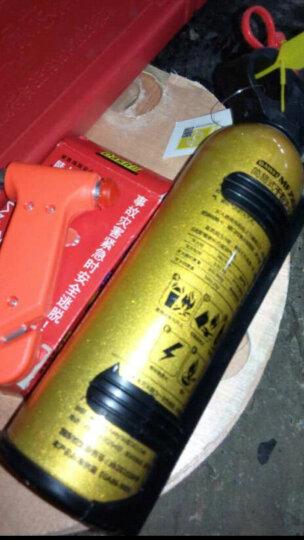 大卫 汽车车载干粉灭火器 套装带固定支架消防器材反光背心 车家两用灭火器 灭火器三件套 晒单图