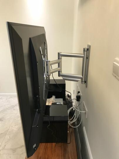 豪迈(holmes)旋转拉伸液晶索尼/三星电视挂架/支架/壁挂42 47 55 65寸 晒单图