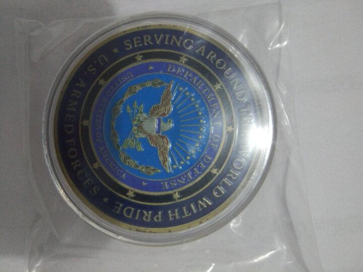 永瑞轩 外国纪念硬币 美国五大军徽章 美洲鹰徽 美国海军陆军空军海军陆战队双面纪念章 晒单图
