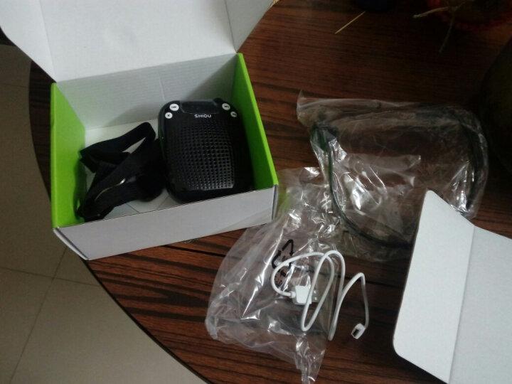 十度(ShiDu)SD-S611 UHF 1秒自动配对 无线便携扩音器 小蜜蜂教师导游专用教学腰挂 大功率喊话器 小音箱 经典黑 晒单图