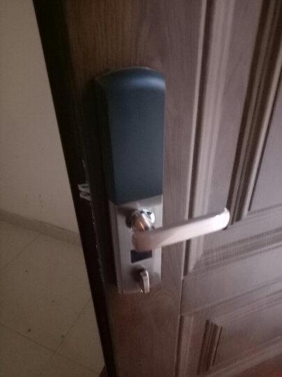 威恒指纹锁 智能锁 电子锁家用防盗门大门指纹密码锁门锁不包安装 半导体土豪金+锁体 晒单图